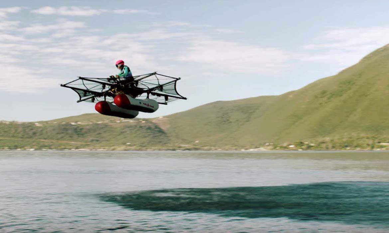 Летающий автомобиль Kitty Hawk