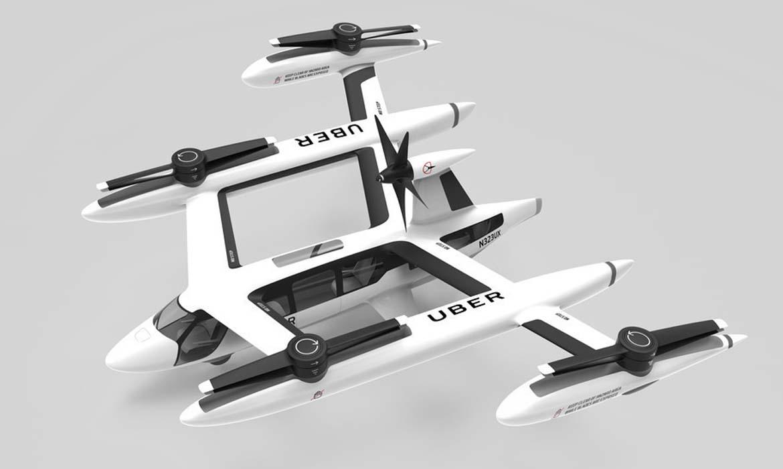 Прототип летающего такси Uber