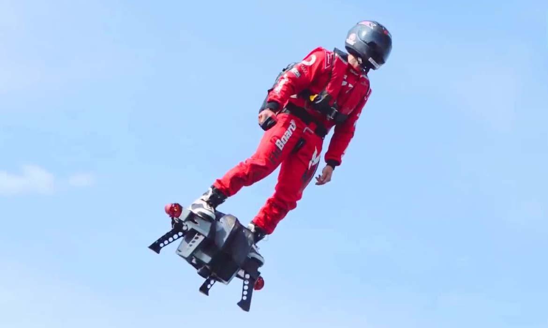 Flyboard - летающий сегвей