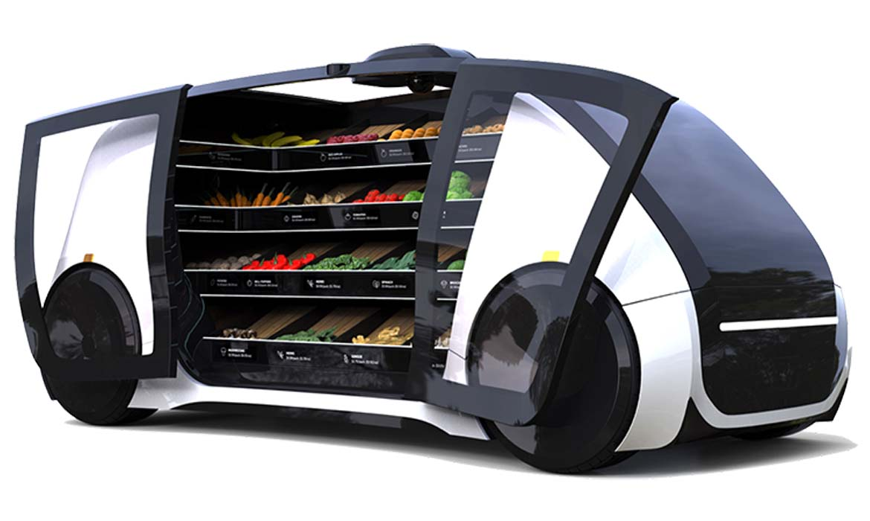 Robomart - магазин на колесах