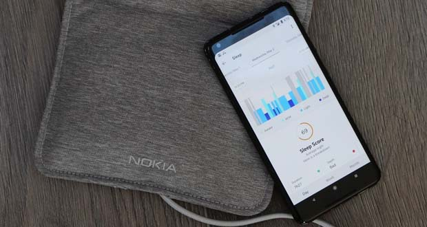 Nokia Sleep - сенсорная панель для сна